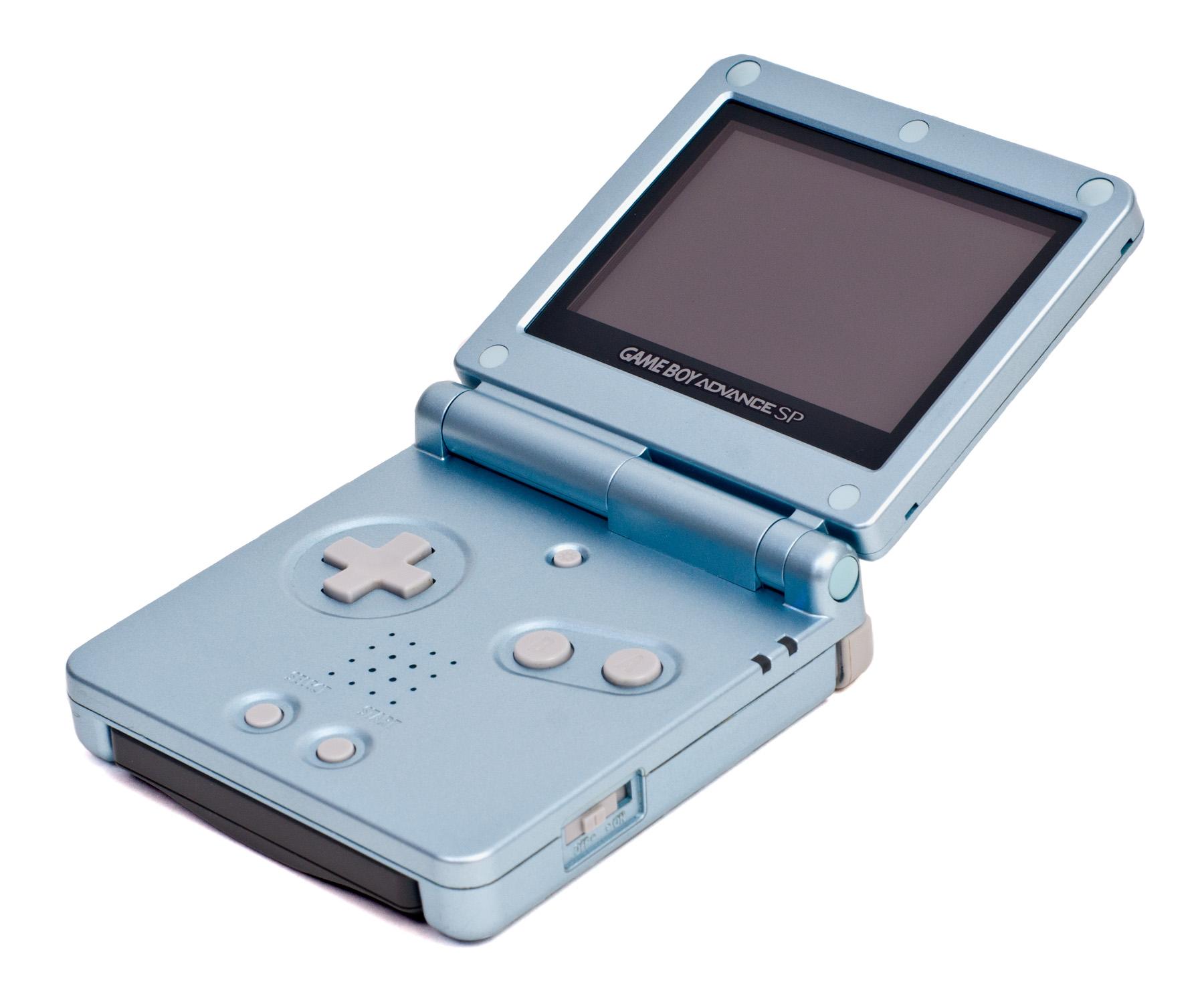 Game Boy Advance Sp : Game boy advance sp digital wiki