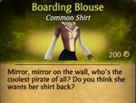 F Boarding Blouse