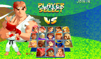 SFA2 characters