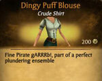 F Dingy Puff Blouse