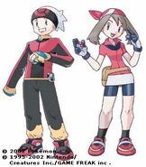 Pokemon Hoen Boy and Girl
