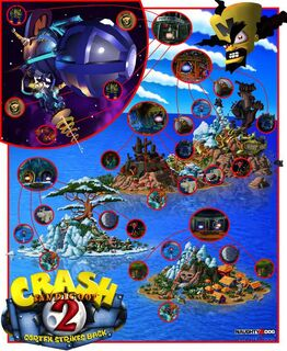 Crash 2 Map