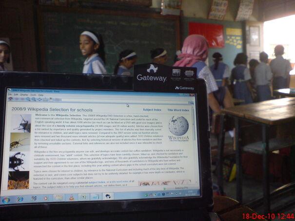 Wikipedia For Schools Offline Edition