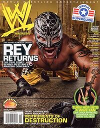 WWE Magazine Aug 2007