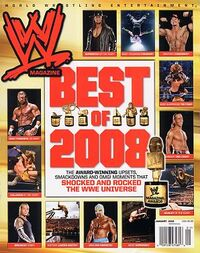 WWE Magazine Jan 2009