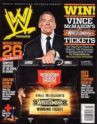 WWE Magazine Mar 2010