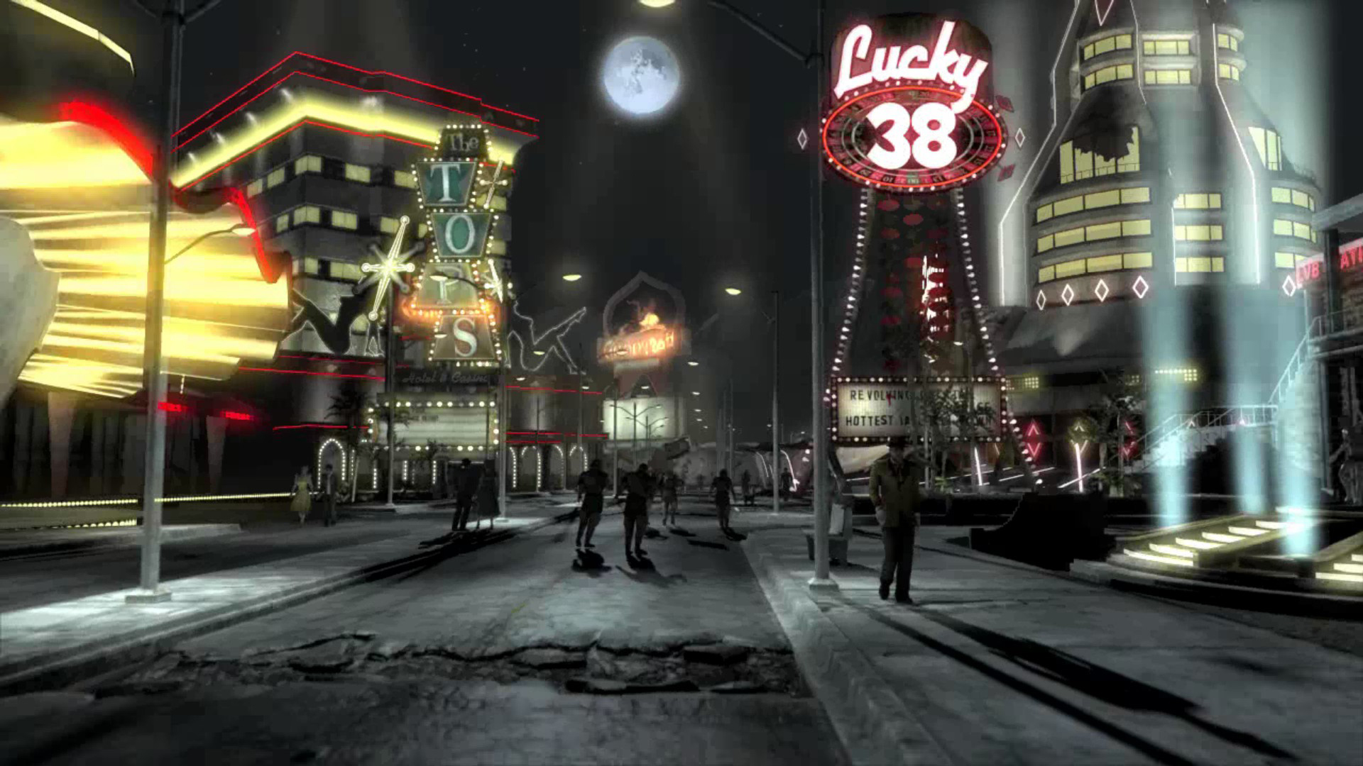 Fallout new vegas the strip key