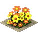Orange Flowers-icon