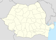 Romania location map