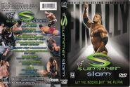 SummerSlam 2001 DVD