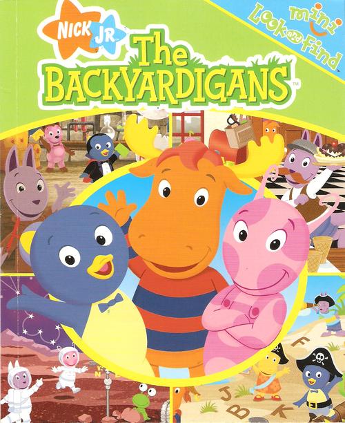 Backyardigans Japanese : The Backyardigans Mini Look and Find  The Backyardigans Wiki