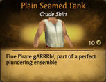 Plain Seamed Tank