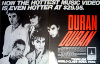 Duran duran thorn emi advert