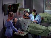 McCoy Sarek Krankenstation