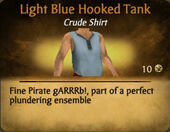 Light Blue Hooked Tank
