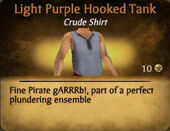Light Purple Hooked Tank