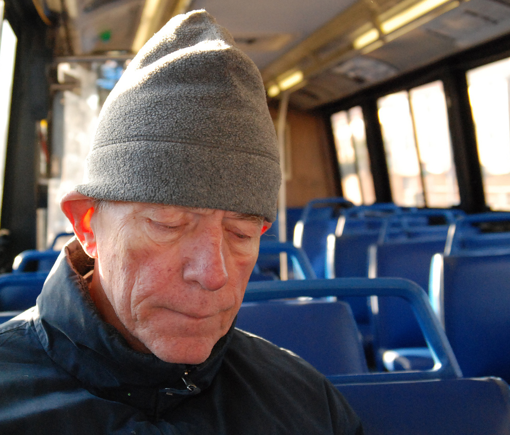 on:File:Old man on bus