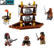 Legopirates captains cabin