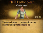 Plain Cotton Vest