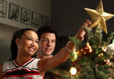 Gleechristmas-santana
