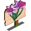 Lilac Daffy Mastery Sign-icon