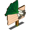 Leek Mastery Sign-icon