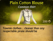 Plain Cotton Blouse