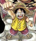 Luffy en Marineford