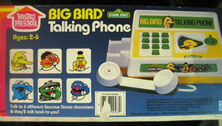 Big bird talking phone 2