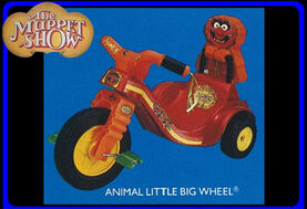 Animal little big wheel