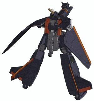 GNY-003F - Gundam Abulhool Type F - Back View