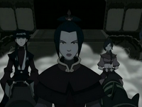Azula, Ty Lee, and Mai