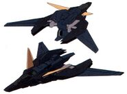 GNY-004B - Black Gundam Plutone - Core Fighter