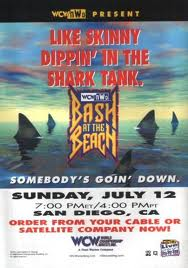 Bash at the Beach 1998 Poster