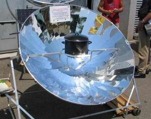 Tra International parabolic cooker