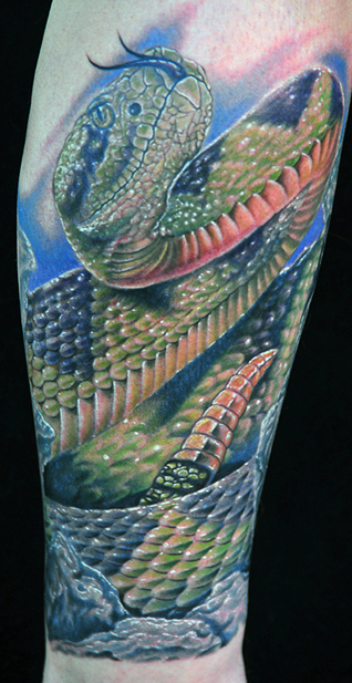 Featured onSnake Tattoos