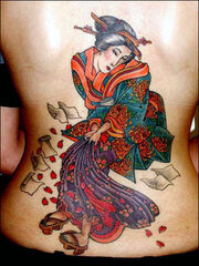 Japanese tattoo 11