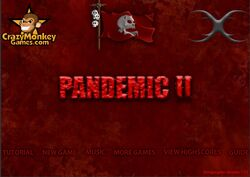 Pandemic menu