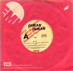 Duran duran Rio AUSTRALIA EMI-792 (Yellow labels with Red PROMO)