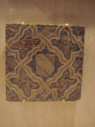 WLA lacma Spain Granada Alhambra Tile