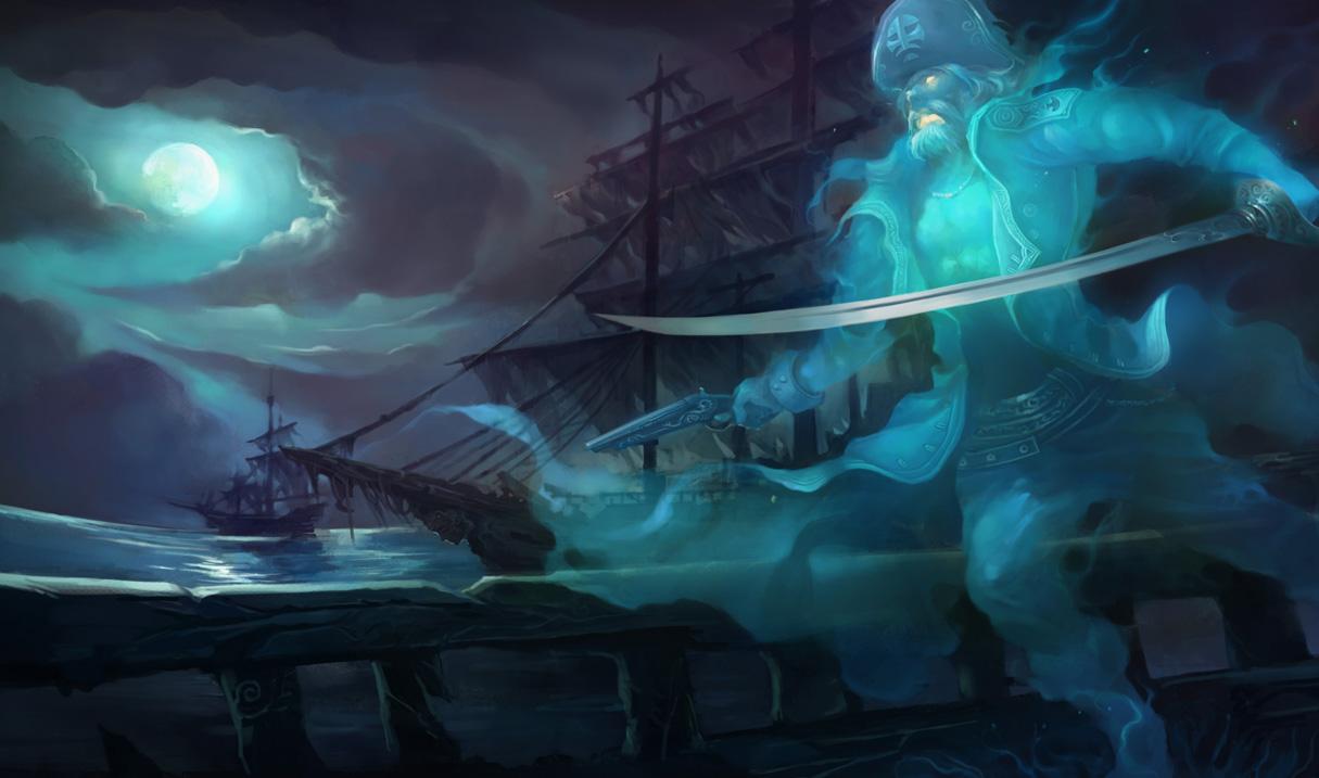 Spooky Gangplank.