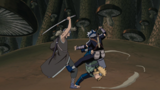 Minato Saving Kakashi