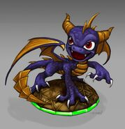 Spyro Toy Concept Art