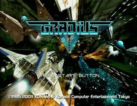 Gradius V Demo Intro
