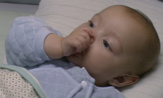 Human-Vulcan hybrid baby
