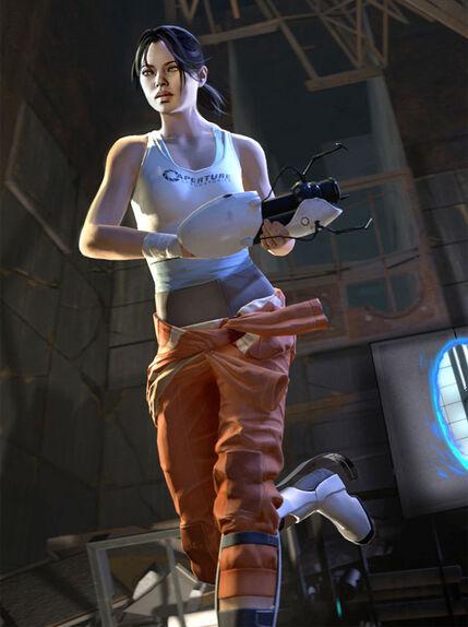 Arsalmenttur Portal 2 Chell Cosplay