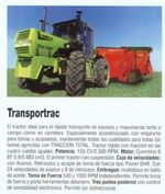 Zanello Transportrac 4WD-2001