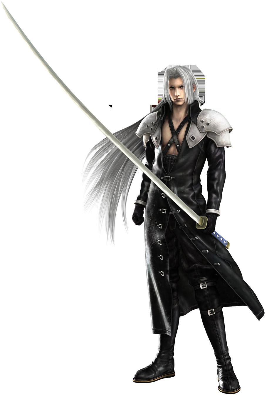 Greatest Game Villian SephirothCGModel-CrisisCore