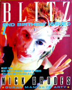 Blitz magazine duran duran september 1984