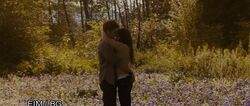 Bella and Edward in &quot;their meadow&quot;
